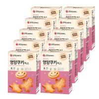 (박스특가/10개입) 큐원 영양쿠키 믹스 (오븐용)