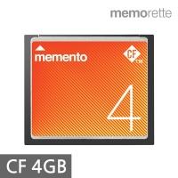 [메모렛] 국산 CF카드 4G MLC 266배속 메모리카드