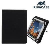 10.1형 태블릿PC 케이스 RIVACASE 3207 (아이패드 에어2 & 갤럭시탭4 10.1 & 탭 PRO 10.1 & SONY 등 호환 / 스탠드 / 고정 밴드)