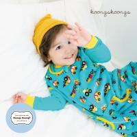 [극세사]민트카 극세사수면조끼 유아수면조끼 아동수면조끼