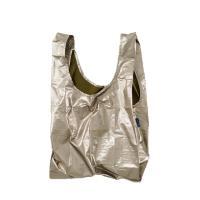 [바쿠백] 휴대용 장바구니 시장가방 Bronze Metallic