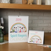 2019년 스피릿핑거스 캘린더 (2종)