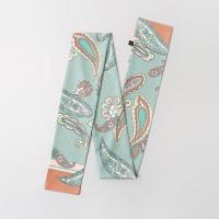 Fei Flower Long Tie Scarf