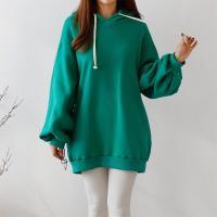 Double Gimo Hood Puff Sweatshirt