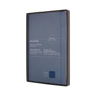 몰스킨 [19클래식 레더 노트]룰드/블루 소프트 L