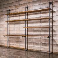 [더파이프] Pipe Shelves 벽면선반 2AG 2440x500x2200
