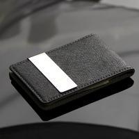 리더플랜 가죽 디자인 머니클립 지갑 고급형