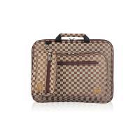 노트북가방 15.4인치(포켓형) 체스체크 쟈가드 브라운