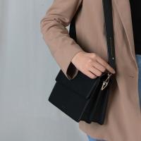 (달거울 증정/탄생석) Two way Bag (M) - Black
