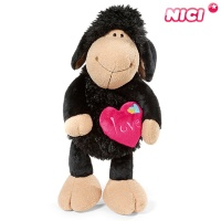 [NICI]니키 졸리 하트 블랙 50cm 댕글링-40605
