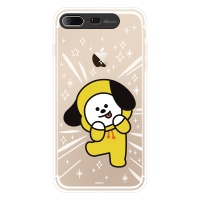 BT21 iPhone8 Plus /7+ 치미 클리어 라이팅 케이스 (SOFT)