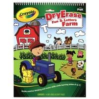 [크레욜라] 영어놀이책 Fun&Letters Farm GY988647