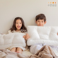 수면공감 우유베개 키즈&주니어 유아/아동/어린이-키즈_방수 커버