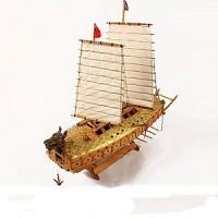 거북선 1/65 YM-002 마니아용 영공방 배 전투함 나무모형 모형 프라모델 목재 조립키트