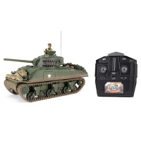 셔먼 미국 배틀 탱크RC M4A3 탱크 (WTS101278TAN)