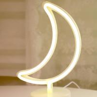 LED 네온 전구 USB 조명등 (달)