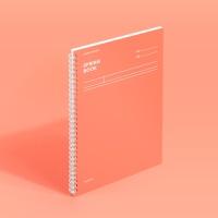 [모트모트] 스프링북 - 리빙코랄 (코넬시스템) 1EA