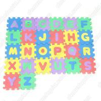 (와인앤쿡)26p 퍼즐 영어 매트 1세트