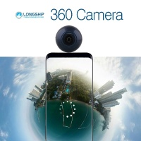 Longship 360도 카메라 신제품(안드로이드용 2K)