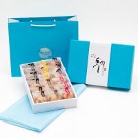 [추석선물] 시루아네 추석 4호 선물세트(다쿠아즈 18개,)보자기+쇼핑백 포함