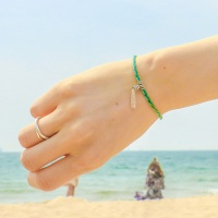 i_b24 - silver tessle bracelets