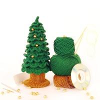 [멜로우] 니팅 키트 : 크리스마스 트리 (골드)