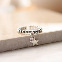 StarWay Silver Ring
