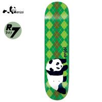 [ENJOI] ORIGINAL PANDA ARGYLE GREEN R7 DECK 32.0 x 8.5