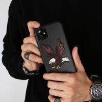 아이폰11 프리미엄 자수 비스트 이글 케이스