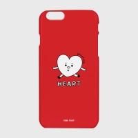 [어프어프] 하드/터프/슬라이드 Heart character-red