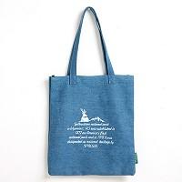 [옐로우스톤] 데님 에코백 denim eco bag - YS2015SU 스카이블루 유네스코