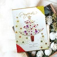 FS1028-4 크리스마스카드 카드 성탄카드