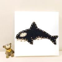 꼬마 범고래 스트링아트 만들기 패키지 DIY
