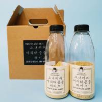 소녀제과 서리태콩물 쉐이크