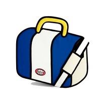 점프프롬페이퍼 Jump From Paper - Sober 2D가방 만화 가방 패션 가방 태블릿pc 수납