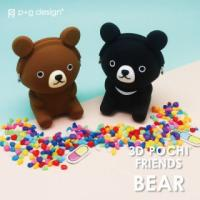 3D POCHI FRIENDS BEAR