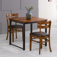 아카시아 2인 식탁+의자PU 세트 FN702-9