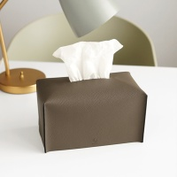 Edge leather Tissue Cover