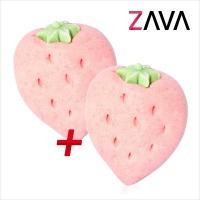 자바(ZAVA) 천연 거품 입욕제_비타민시리즈 01.딸기얌 1+1
