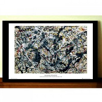 GN0378 Pollock Silver on Black