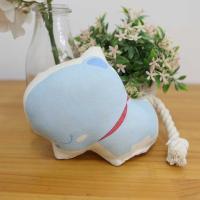 오가닉 바스락 토이-블루곰