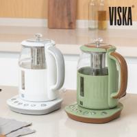 비스카 1.5L 유리 티포트 전기주전자 VK-T207GK