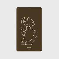 [어프어프] 보조배터리 Statuette-brown