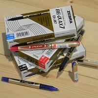 [ZEBRA] 0.7mm 생잉크 수성펜-일본 제브라 Liquid ink Roller BE-알파 AX7 1다스(10개입)