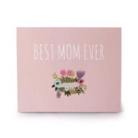 [인디고샵] 핑크 베스트맘 카드