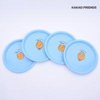 카카오프렌즈 접시 [피크닉  4P세트-라이언-KF6867]