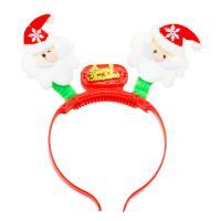 LED 산타 얼굴 머리띠