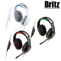 브리츠 프로 게이밍 헤드셋 K220GH (40mm 네오디뮴 유닛 / 케이블 컨트롤러 / LED조명)