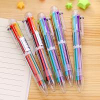 6색 볼펜 10개