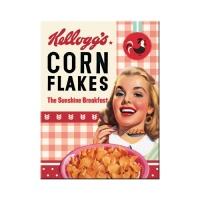 노스텔직아트[14368] Kellogg's - Girl Corn Flakes